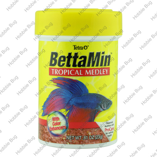Tetra 81oz bettamin flakes freshwater aquarium fish food for Beta fish food