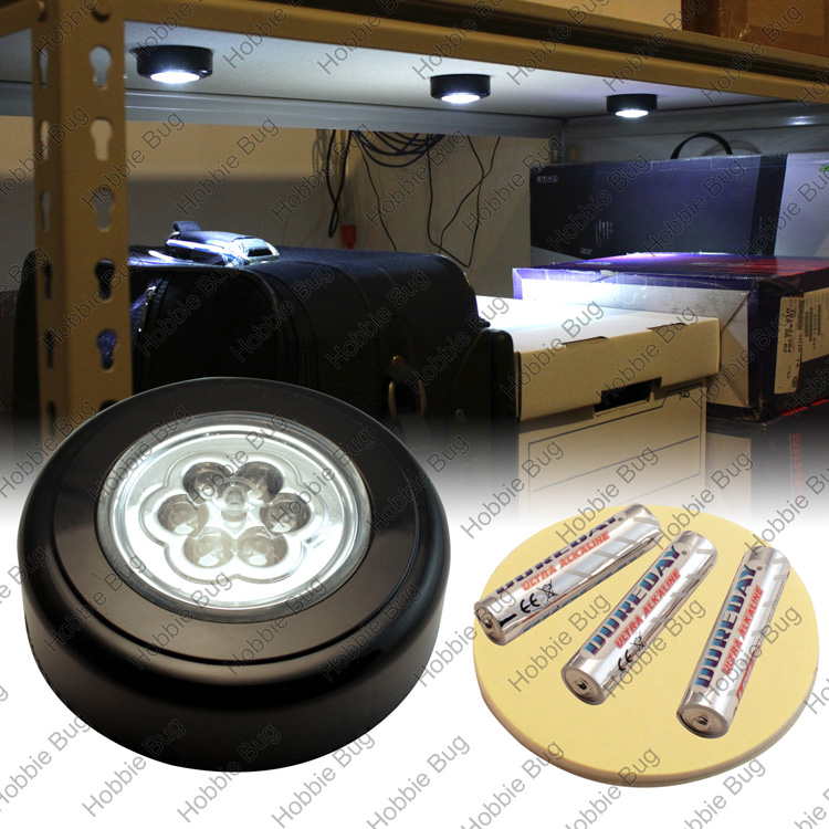 Wireless Battery Power Include Led Recessed Undercabinet